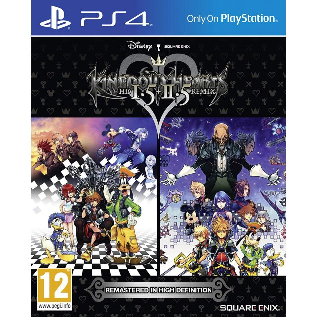 Kingdom Hearts HD 1.5 and 2.5 Remix PS4