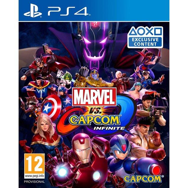 Marvel vs Capcom Infinite PS4