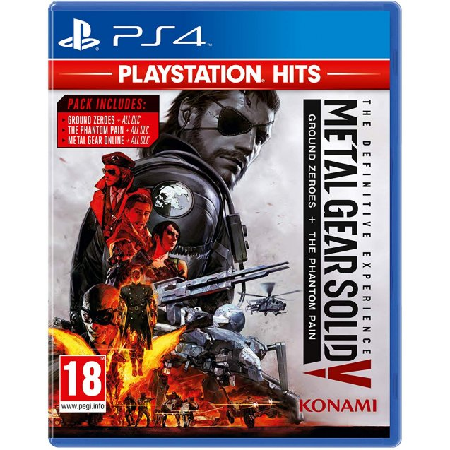 Metal Gear Solid V The Definitive Experience PlayStation Hits PS4