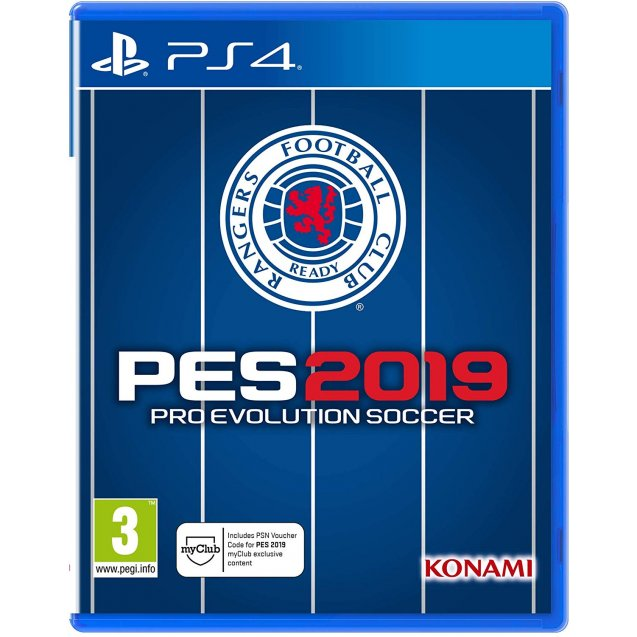Pro Evolution Socer 2019 Rangers Edition PS4