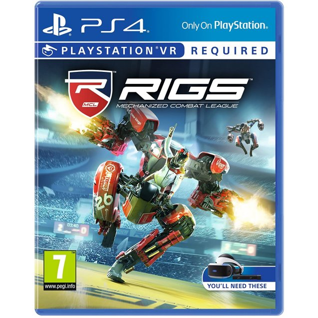 Rigs Mechanized Combat League PSVR