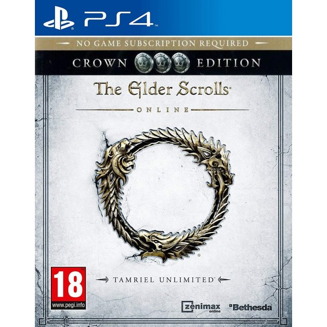 The Elder Scrolls Online Tamriel Unlimited Crown Edition PS4