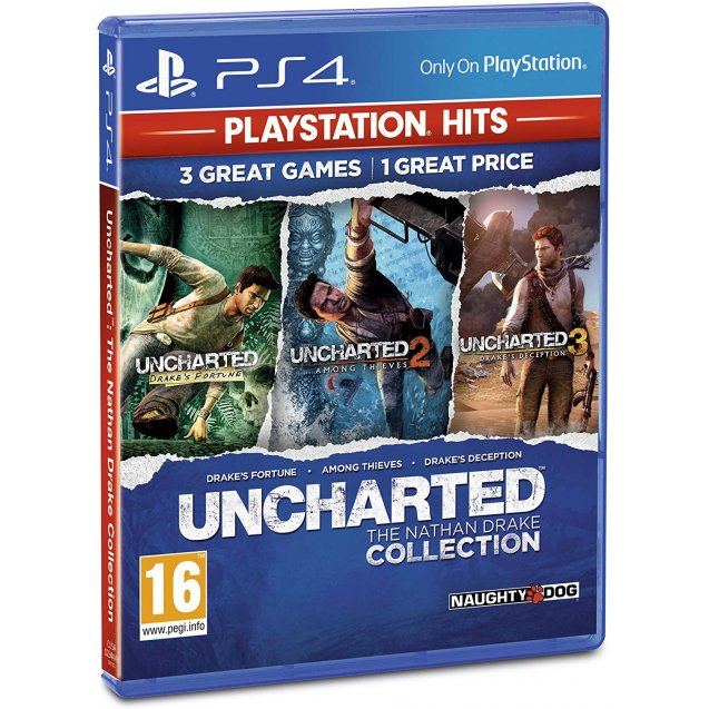 Uncharted Collection PlayStation Hits