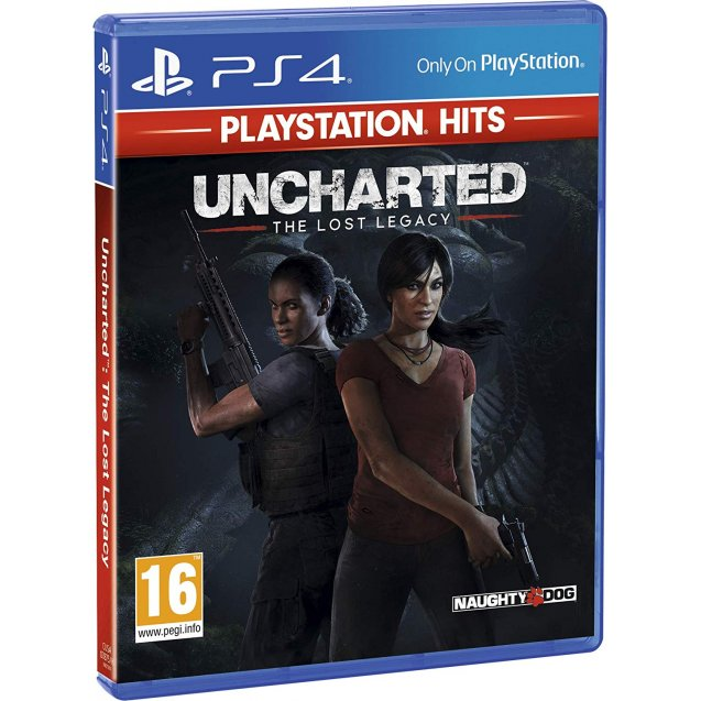 Uncharted The Lost Legacy PlayStation Hits