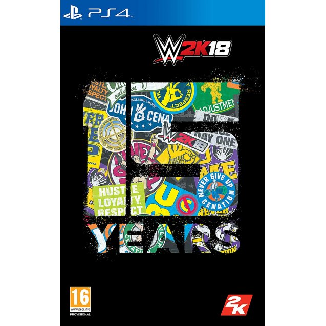 WWE 2K18 Cena Nuff Edition PS4