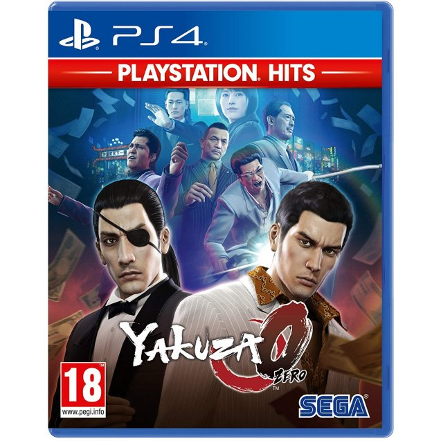 Yakuza 0 PlayStation Hits