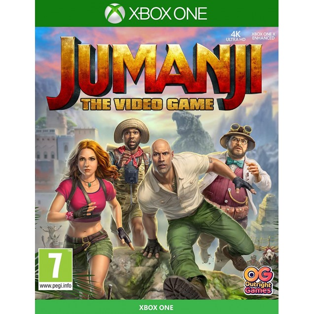 Jumanji The Video Game Xbox