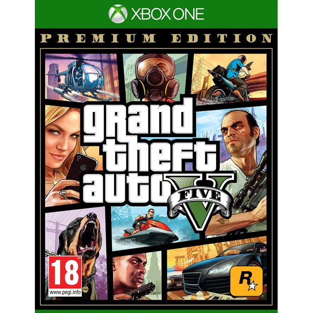 Grand Theft Auto V: Premium Edition Xbox One