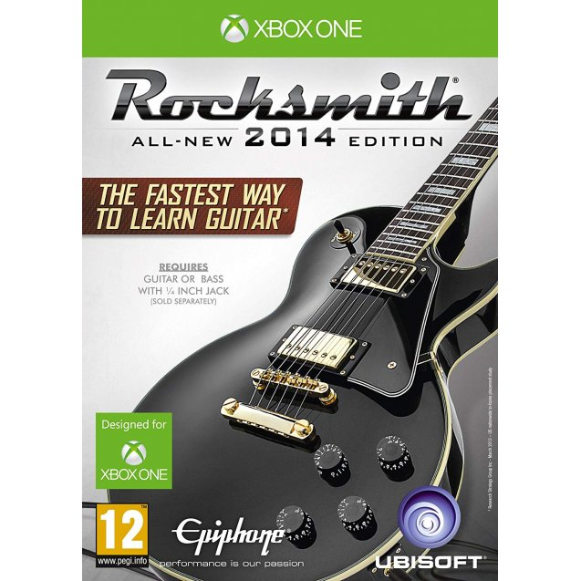 Rocksmith 2014 Edition with Real Tone Cable Xbox One