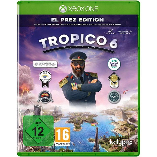 Tropico 6 El Prez Edition Xbox One