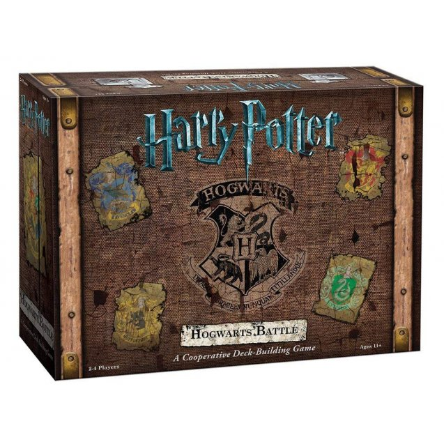 Harry Potter Hogwarts Battle a Cooperative Deck Building Game