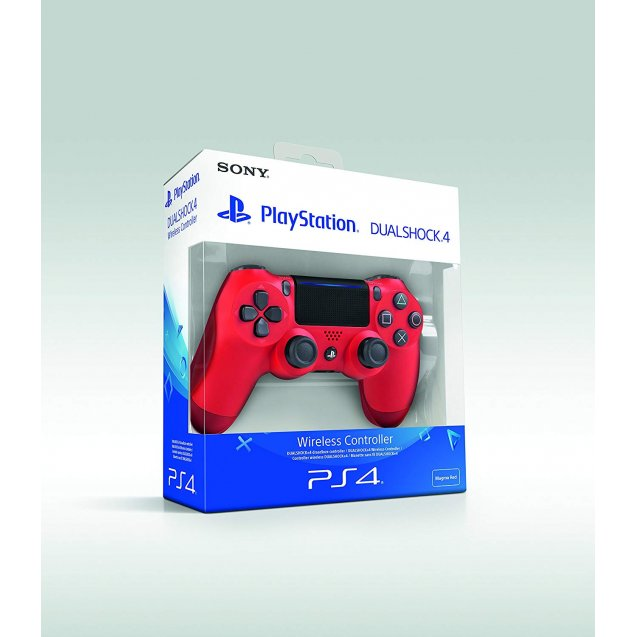 Sony PlayStation DualShock 4 V2 Controller Magma Red
