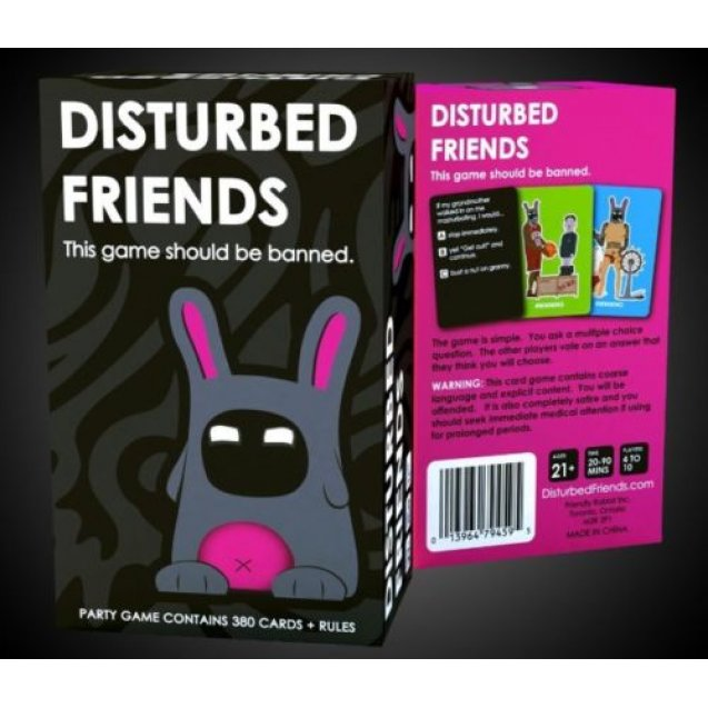 Disturbed Friends Board Game