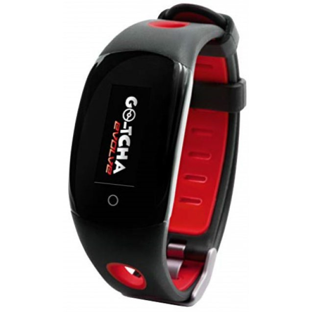 Go-Tcha Evolve LED-Touch Wristband Watch For Pokemon Go Red