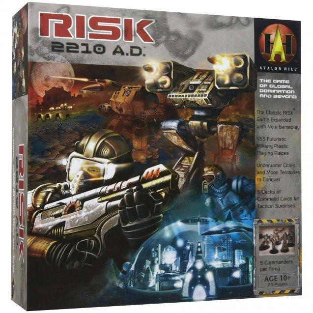 Risk 2210AD Edition Board Game