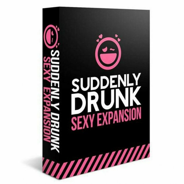 Suddenly Drunk Sexy Expansion Board Game