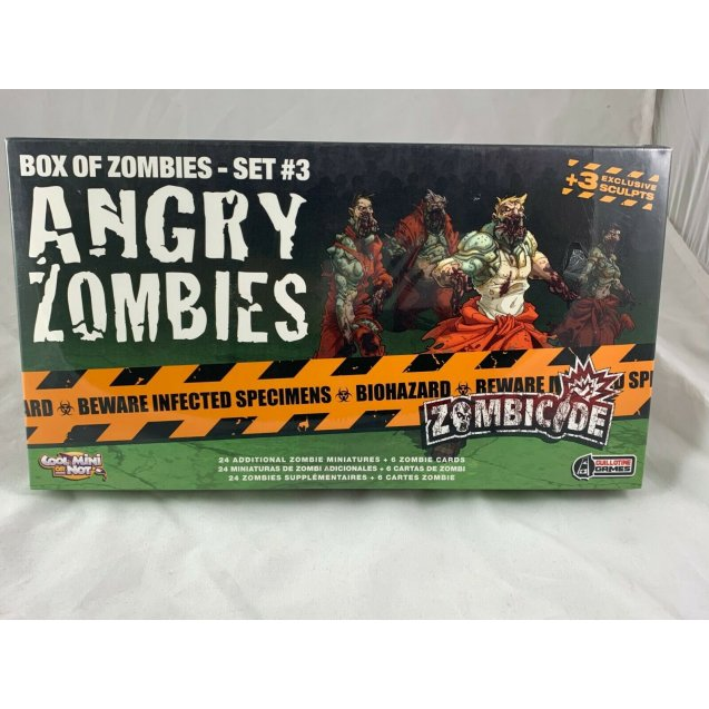Zombicide Expansion: Box of Zombies - Set #3 Angry Zombies