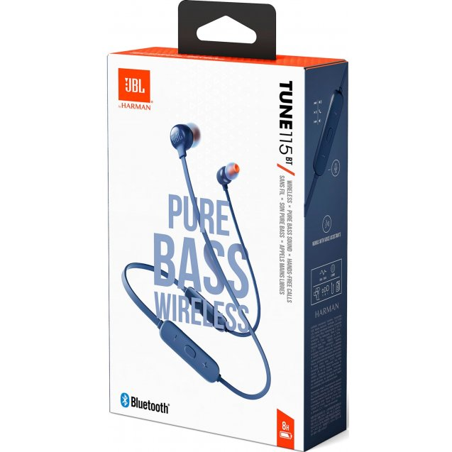 JBL TUNE 115BT Blue