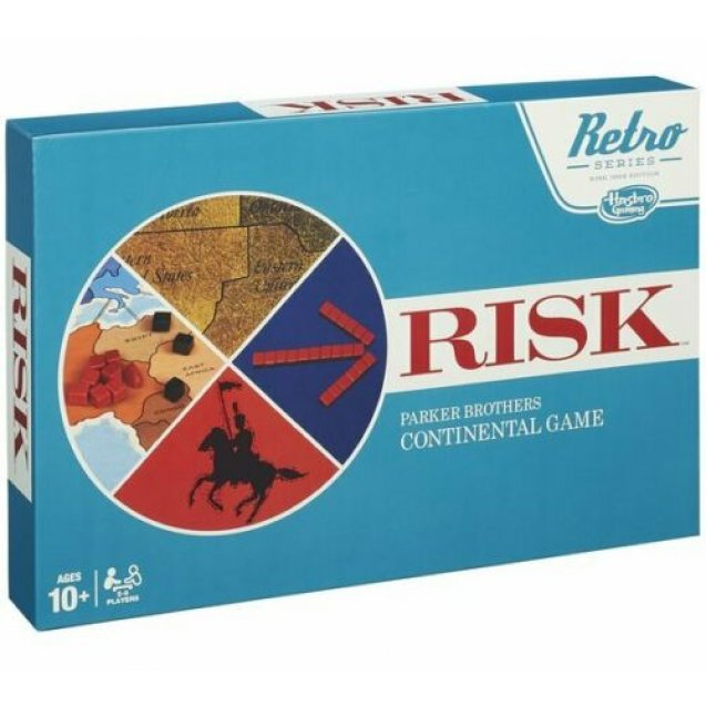 Retro Risk Game (board game)