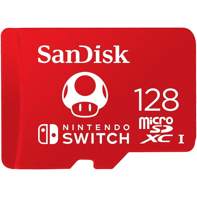 Sandisk Micro SD Card for Nintendo Switch 128GB