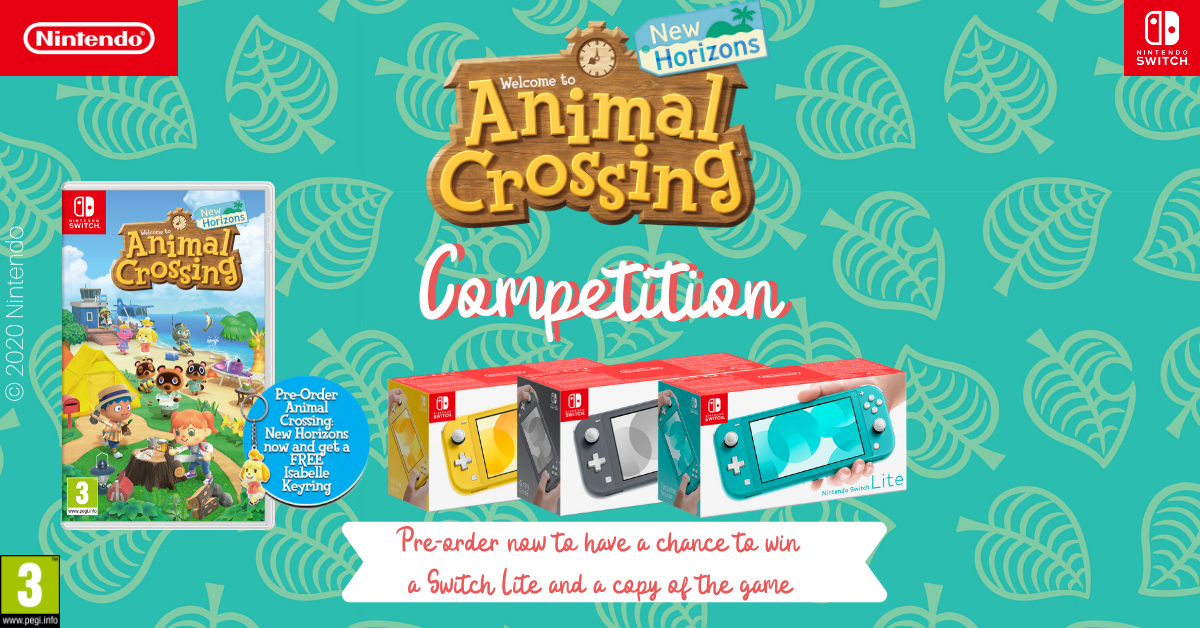 Pre-Order Animal Crossing: New Horizons To Get A Chance To Win Nintendo Switch Lite